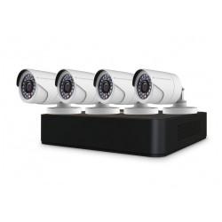 Kit vigilancia CCTV AHD profesional Conceptronic profesional 4 canales C4CCTVKITD2TB V2 grabador con disco duro