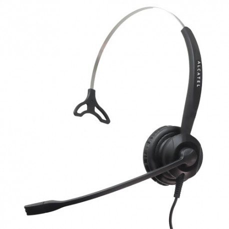 Auricular Monoaural Alcatel TH120 conector QD + regalo cable RJ9
