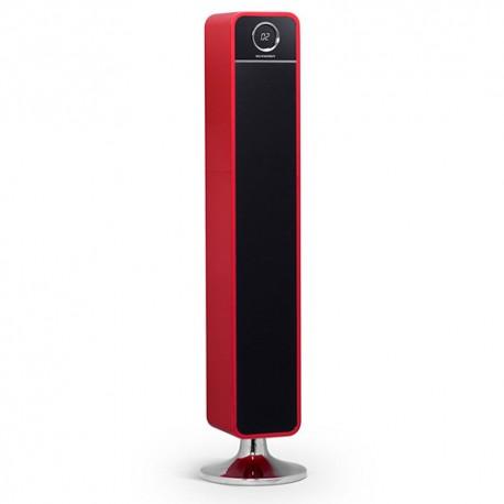 Torre de sonido roja Schneider Feeling´s tower HD 120W