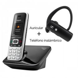 Kit solucion inalambrica Gigaset S850 + Sennheiser EZX70 Bluetooth