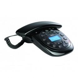 AEG STYLE-12 BLACK - Teléfono de sobremesa con display.