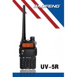 Baofeng UV-5R (Pinganillo y antena corta de regalo)