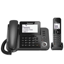 Panasonic Combo inalambrico + Terminal de sobremesa KX-TGF310EXM.