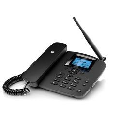 Telefono sobremesa 2G Motorola fw200 m/libres (Telefono con slot para SIM GSM y bateria auxiliar )