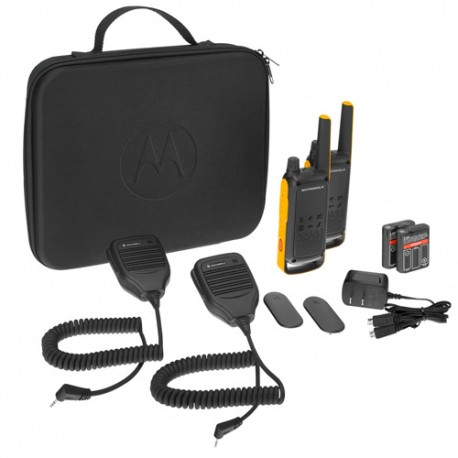Pack de 2 Walkie Talkies Motorola T82EX RSM , PMR446