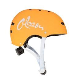 Casco protector adulto OLSSON naranja talla m/l