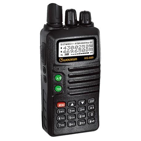 Radio Portátil WOUXUN  KG-889 Banda Media 66-88 Mhz.