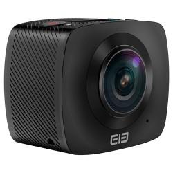 Camara de deportes Elephone Elecam360. Videos Full HD y fotos 4K en formato 360 grados. Wifi integrado. Color negro.