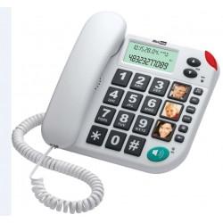 MAXCOM KXT480 Teléfono Teclas Grandes + Display