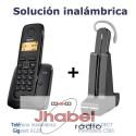 KIT solucion inalambrica Gigaset A120 + Auricular Dect GAP Plantronics C565