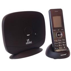 Telefono inalambrico GSM Xacom W-258B BASE+TELEFONO ( Telefono al que se le puede insertar una SIM GSM)